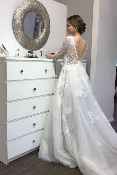 Свадебное платье Канануха выбрала в Москве