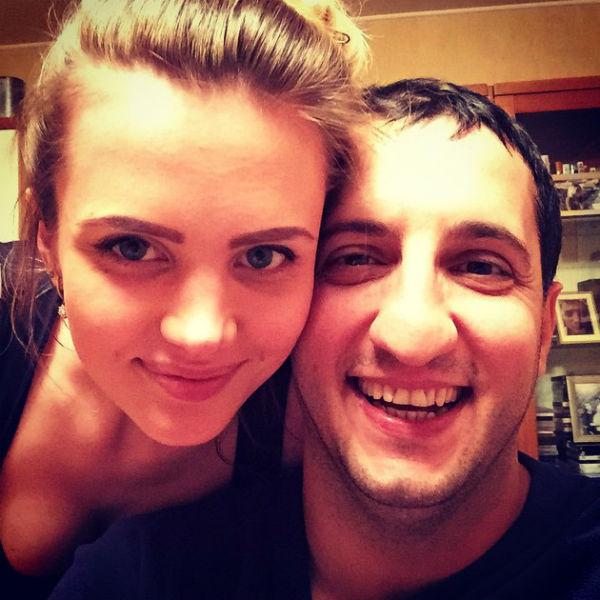 Арарат и Катя Кещян стали родителями в сентябре прошлого года
