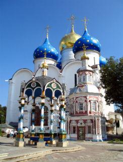 Троице-Сергиева лавра основана на месте, где в XIV веке жил Сергий Радонежский