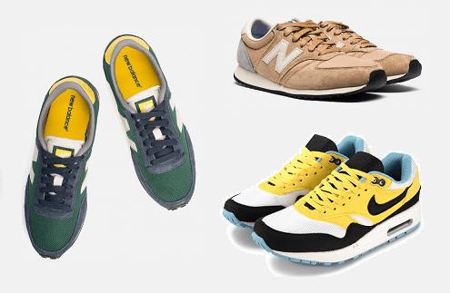 Кроссовки New Balance, Nike Air