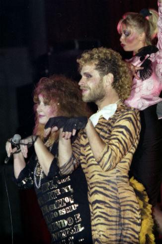 Алла Борисовна с танцором Борисом Моисеевым. «Фестивальный». Октябрь 1987 г.