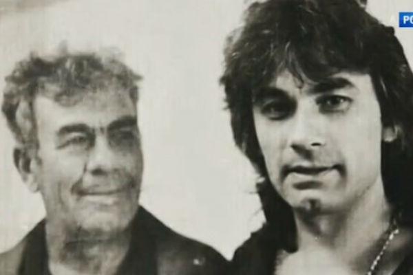 Единственная фотография отца и сына