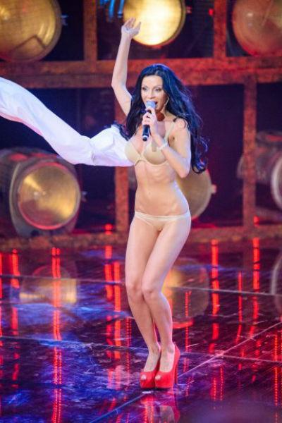 Номер Юлианны Полуботко удивил судей шоу