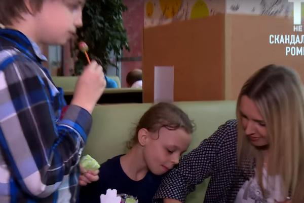 Елена заботится о шестерых детях
