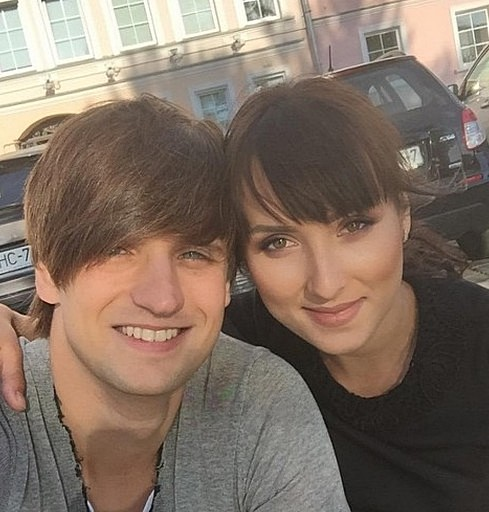Дмитрий Колдун с женой Викторией