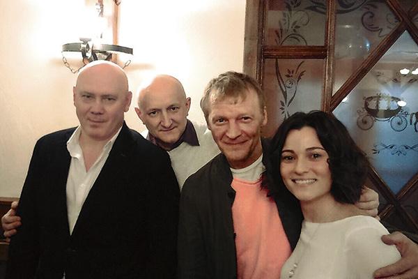 Николай Потапов помогал Алексею Серебрякову вжиться в образ медика