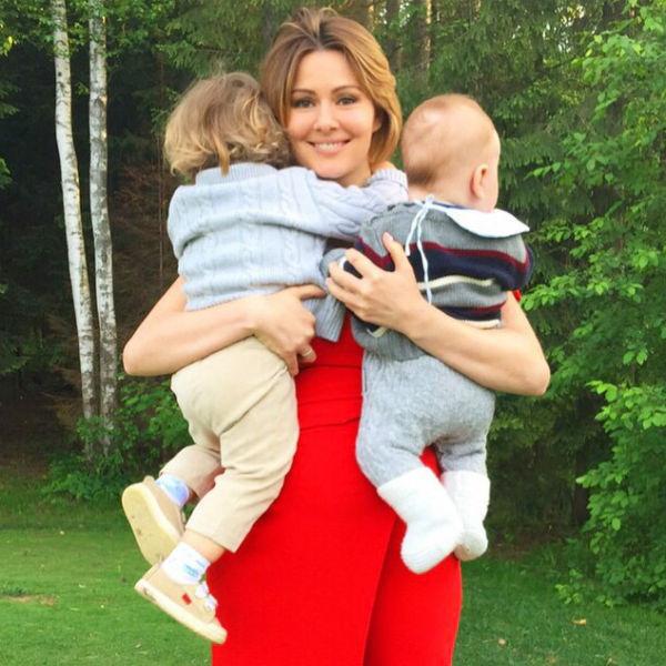 Актриса не раз признавалась, что считает себя счастливой мамой