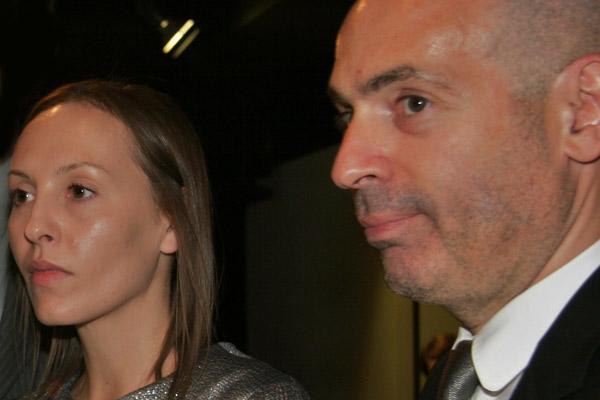 Ирина Миронова с мужем Михаилом Грушевским