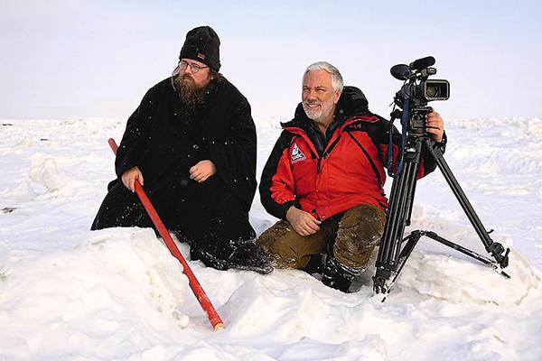 Bместе с Андреем Кураевым в Антарктиде