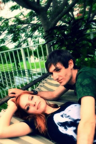 Мэрилин Керро с возлюбленным Александром Шепсом