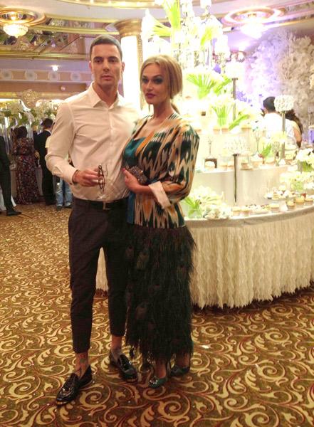Алена Водонаева и ее возлюбленный Антон Коротков