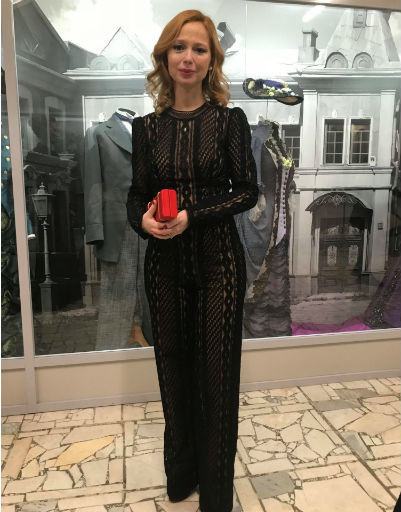 Елена Захарова на премии «Золотой Орел»