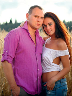 Степан Менщиков и Евгения Шамаева