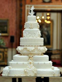 Свадебный торт Уильяма и Кейт