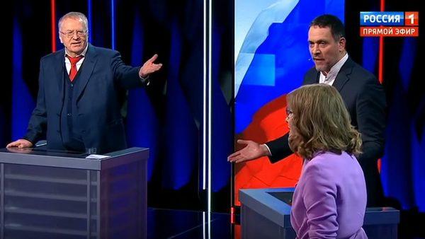 Владимир Жириновский комментирует речь Ксении Собчак