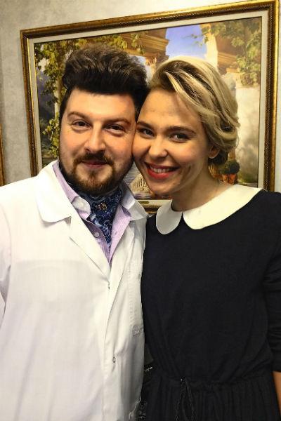 Со многими звездами у врача установились близкие дружеские отношения