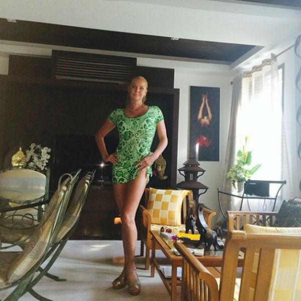 Скромное, но уютное жилище Анастасии