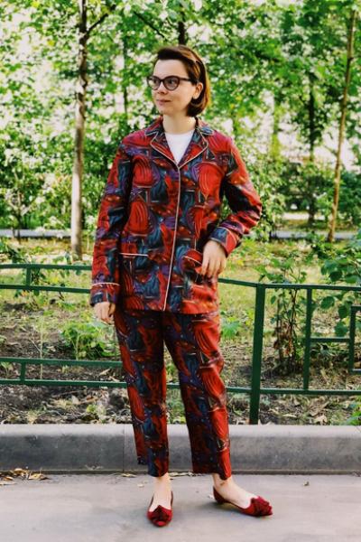 Пижамный стиль