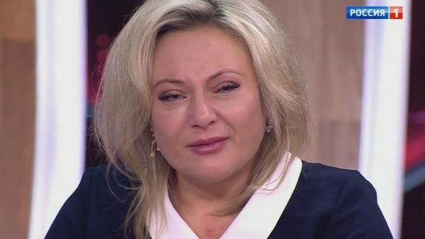 Оксана Богданова расплакалась на съемках программы