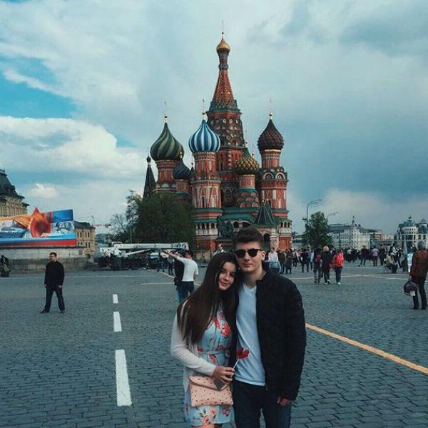 Пара провела майские праздники в Москве