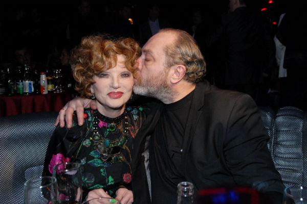 Людмила Марковна с мужем Сергеем Сениным