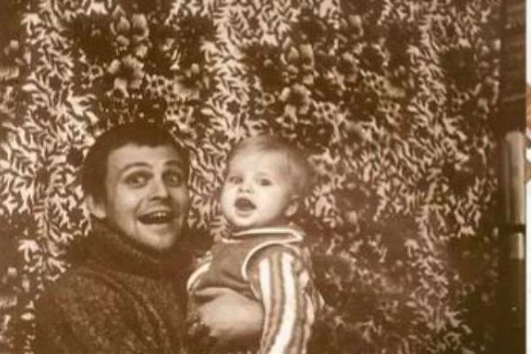 Александр Соловьев с сыном Михаилом
