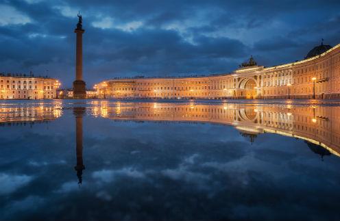 На Дворцовой площади в Петербурге будет кинотеатр под открытым небом