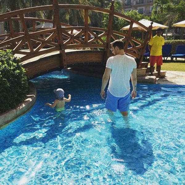 Алексей с сыном Федором