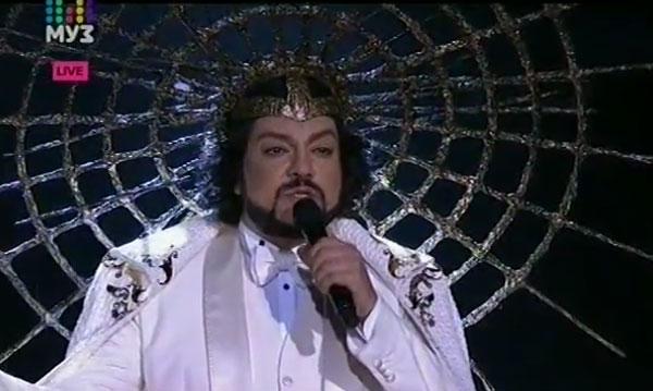 Филипп Киркоров на сцене «Астана-арена»