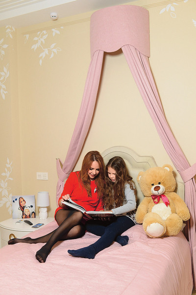 У девочек – Саши и Маши – отдельные комнаты