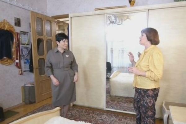 Алла Данько показала спальню