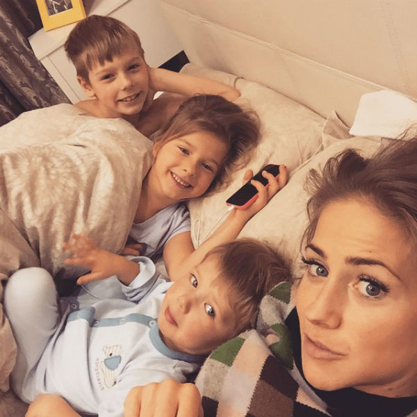Юлия Барановская хочет отвезти детей в Америку