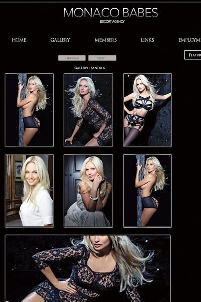 На сайте эскорт-услуг Монако появилась анкета девушки, похожей на Лопыреву