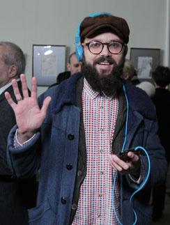 Артем Семакин на премьере фильма «Деточки» в апреле 2012 года