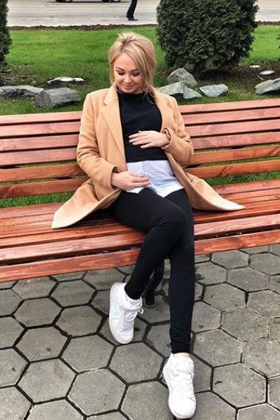 Дарья Пынзарь ждет второго ребенка