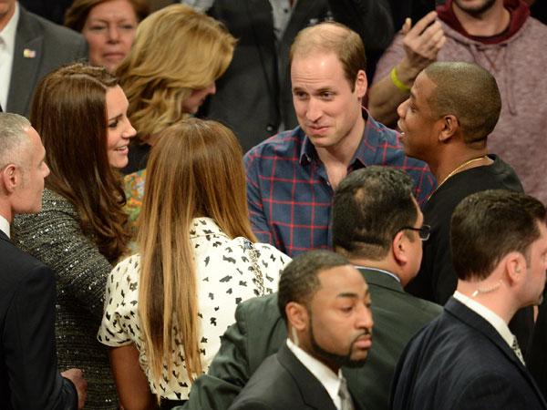 Кейт и Уильям знакомятся с Бейонсе и Джей Зи