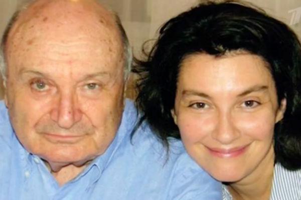 Михаил Жванецкий с женой