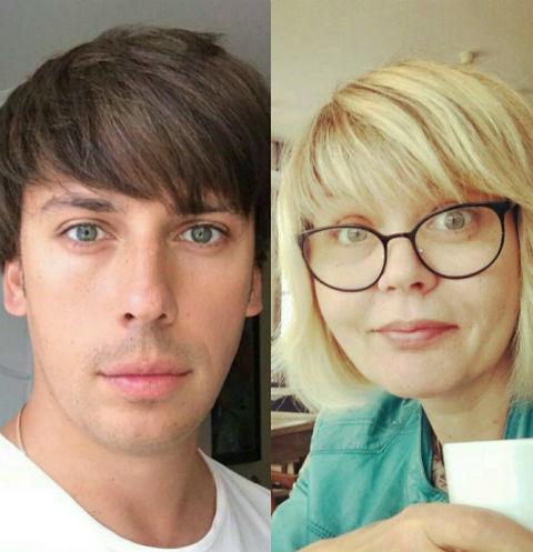 Максим Галкин и Юлия Меньшова