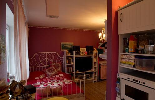 Виктория Дайнеко выбрала кровать вместо дивана, как ей советовали