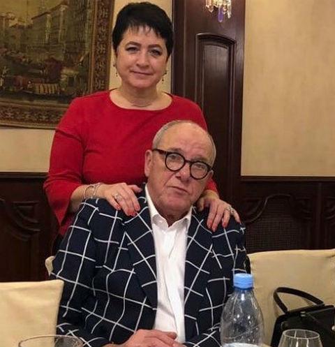 Эммануил Виторган с супругой