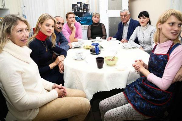 В сентябре прошлого года в Нижнем Новгороде состоялась встреча семьи Водяновой с сотрудниками кафе