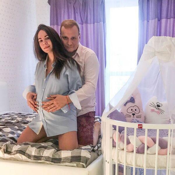 Сергей Сафронов с супругой Екатериной