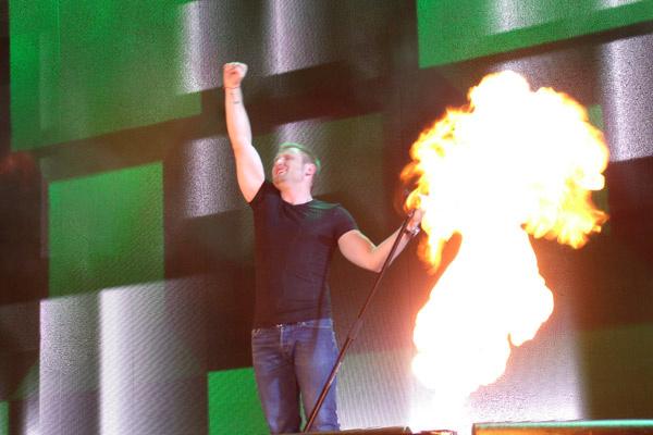Алексей Хворостян на концерте в честь Дня России