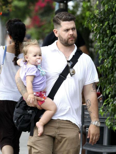 Джек с малышкой Перл