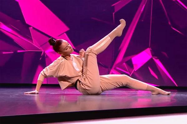 Лера Юдина и ее танец