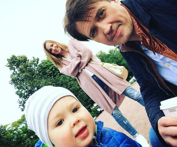 Матросов с Ольгой и Федором