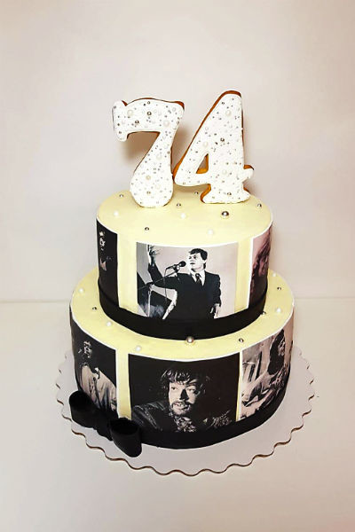 Актер умер накануне дня рождения. Заказ торта не отменили, но его даже не разрезали