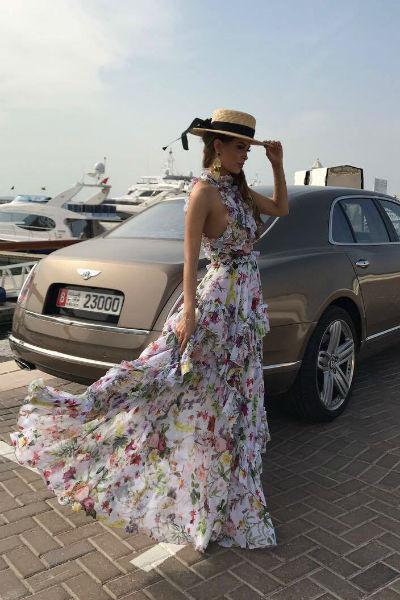 Калашникова принимала участие в модной фотосъемке