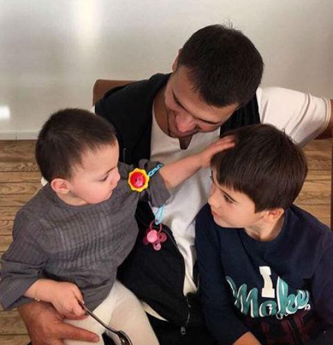 Эмин Агаларов с детьми