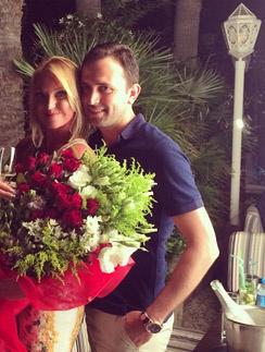 Анастасия Волочкова с женихом